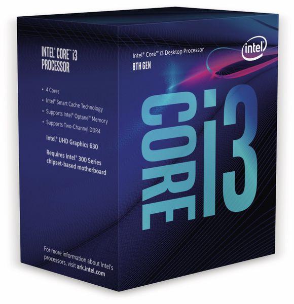 CPU INTEL Core i3-8350K, 4x 3,6 GHz, Übertaktungsgeeignet