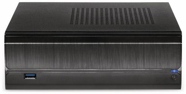 PC-Gehäuse INTER-TECH ITX JX-500, inkl. VESA- und Wandhalterung - Produktbild 2