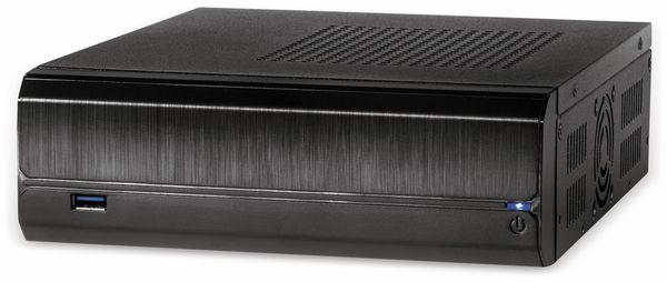 PC-Gehäuse INTER-TECH ITX JX-500, inkl. VESA- und Wandhalterung - Produktbild 3