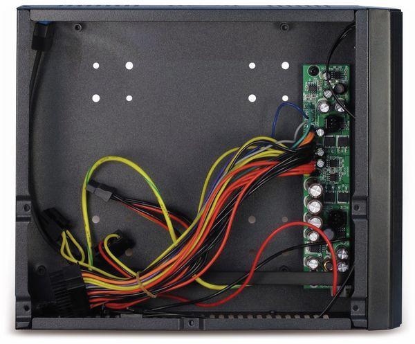 PC-Gehäuse INTER-TECH ITX JX-500, inkl. VESA- und Wandhalterung - Produktbild 5