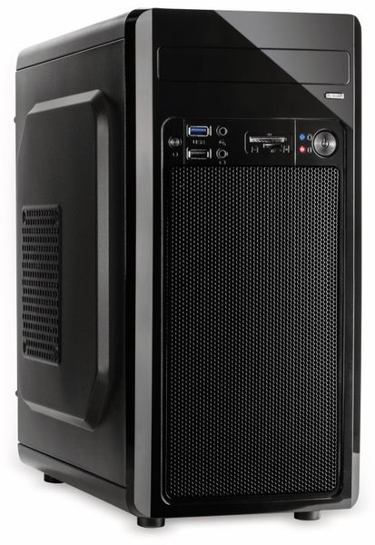 PC-Gehäuse INTER-TECH Micro MC-02 - Produktbild 1