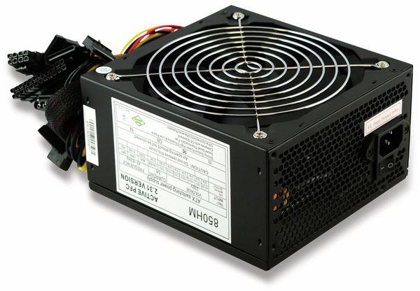 ATX2.31 Computer-Schaltnetzteil HM-850, 850 W - Produktbild 4