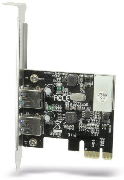USB 3.0 PCIe-Karte RED4POWER R4-E001, 2-port