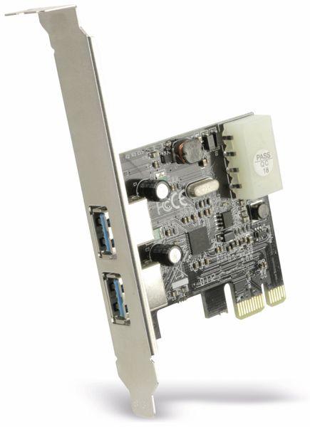 USB 3.0 PCIe-Karte RED4POWER R4-E001, 2-port - Produktbild 2