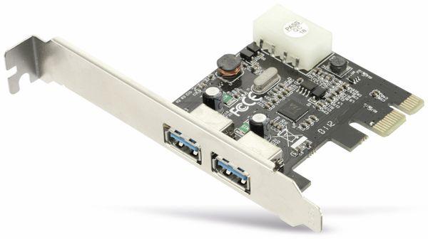 USB 3.0 PCIe-Karte RED4POWER R4-E001, 2-port - Produktbild 3