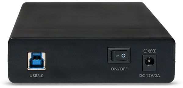 "Festplattengehäuse LOGILINK UA0276, 3,5"", USB 3.0, Schraubenloses Design - Produktbild 2"