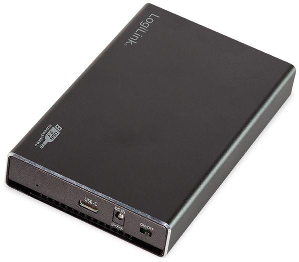 """USB3.1 Festplattengehäuse LOGILINK UA0290, 2,5"""", SATA - Produktbild 1"""