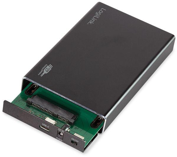 """USB3.1 Festplattengehäuse LOGILINK UA0290, 2,5"""", SATA - Produktbild 3"""