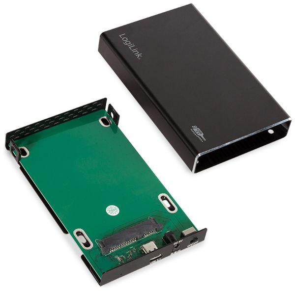 """USB3.1 Festplattengehäuse LOGILINK UA0290, 2,5"""", SATA - Produktbild 5"""