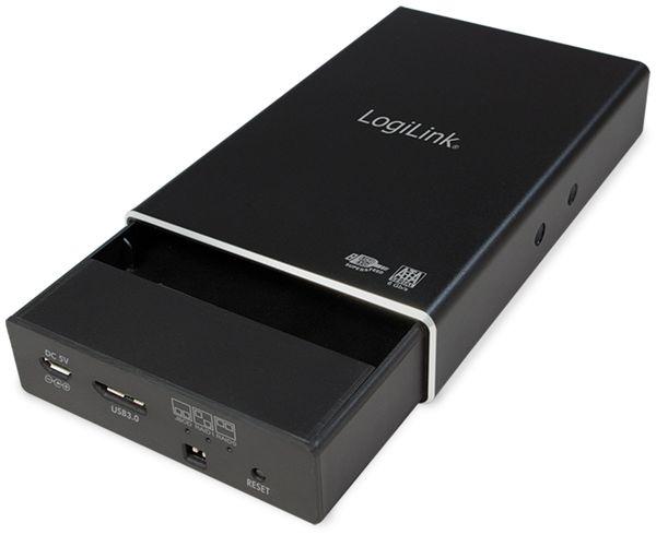 """USB3.0 Raid-Gehäuse LOGILINK UA0291, 2x 2,5"""", Aluminium - Produktbild 3"""