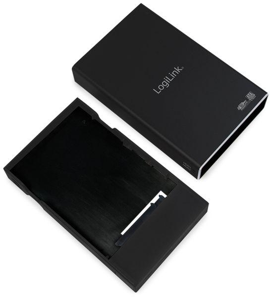 """USB3.0 Raid-Gehäuse LOGILINK UA0291, 2x 2,5"""", Aluminium - Produktbild 5"""