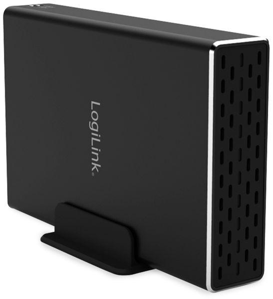 "USB3.1 Gen2 Raid-Gehäuse LOGILINK UA0293, 2x 2,5"", SATA - Produktbild 5"