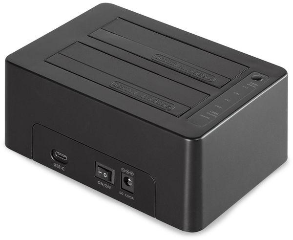 "Festplatten-Dockingstation LOGILINK QP0028, 2x 2,5/3,5"" - Produktbild 2"