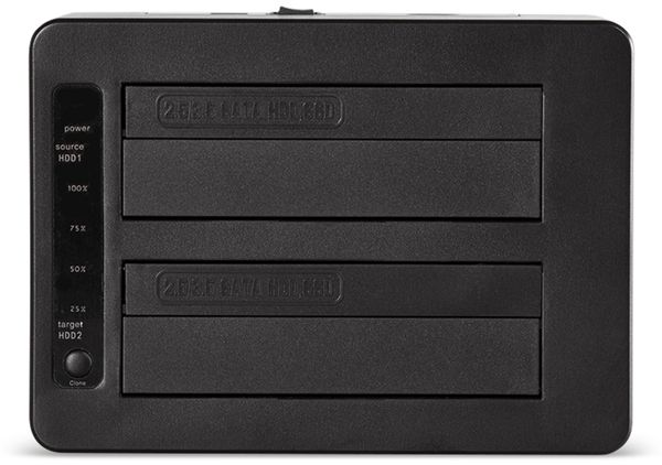 "Festplatten-Dockingstation LOGILINK QP0028, 2x 2,5/3,5"" - Produktbild 3"