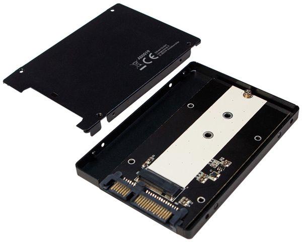 "M.2-Festplattengehäuse LOGILINK AD0019, 2,5"" SATA - Produktbild 3"