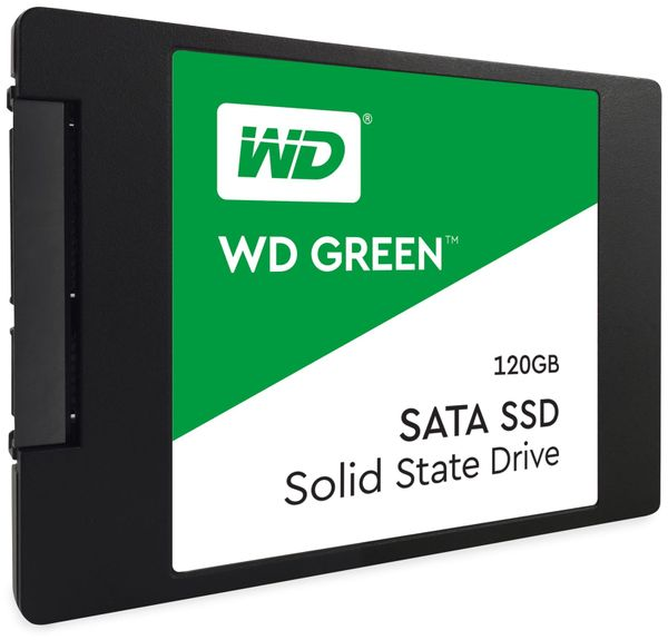 SSD WESTERN DIGITAL Green, 120 GB