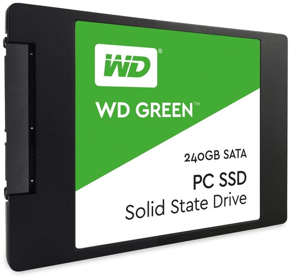 SSD WESTERN DIGITAL Green, 240 GB