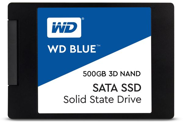 SSD WESTERN DIGITAL Blue, 500 GB