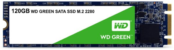 M.2 SSD WD Green, 120 GB