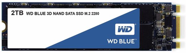 M.2 SSD WD Blue, 2 TB