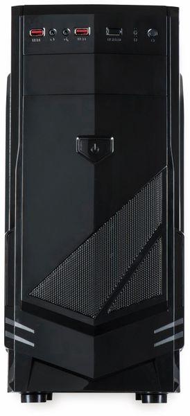 PC-Gehäuse INTER-TECH B-30, schwarz - Produktbild 2
