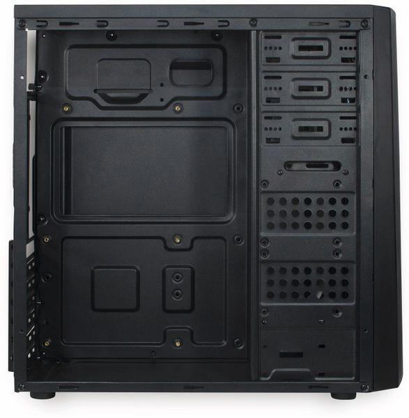 PC-Gehäuse INTER-TECH B-42, schwarz-blau - Produktbild 7