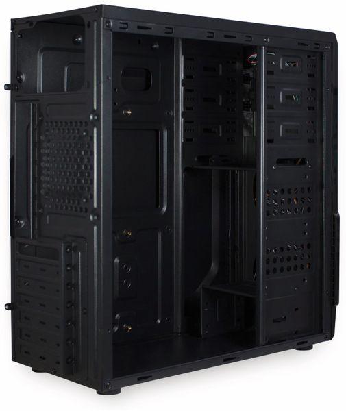 PC-Gehäuse INTER-TECH B-42, schwarz-blau - Produktbild 8