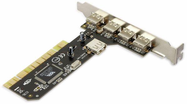 USB-Karte SD-U26212-4E1I-J3, 5x USB 2.0 - Produktbild 3