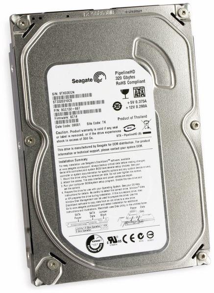 "SATA-HDD diverse Hersteller, 320 GB, 3,5"", Pulled"