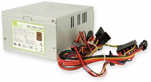 PC-Netzteil COMPUCASE HEX-300TA-2WX, 300 W, 80+ bronze, Pulled - Produktbild 5