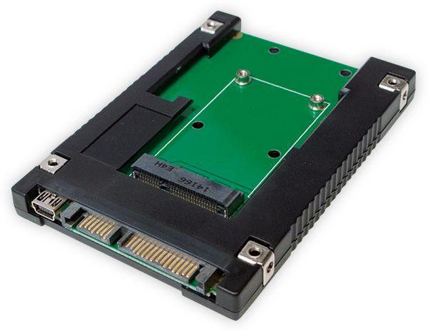 "mSATA-Adapter LOGILINK UA0223 zu 2,5"" SATA"