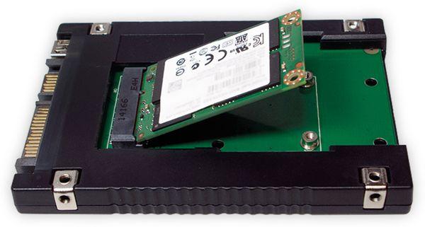"mSATA-Adapter LOGILINK UA0223 zu 2,5"" SATA - Produktbild 3"