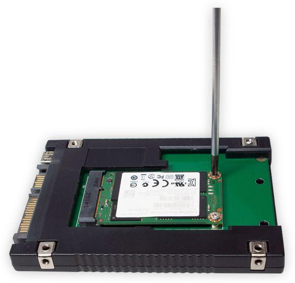 "mSATA-Adapter LOGILINK UA0223 zu 2,5"" SATA - Produktbild 4"