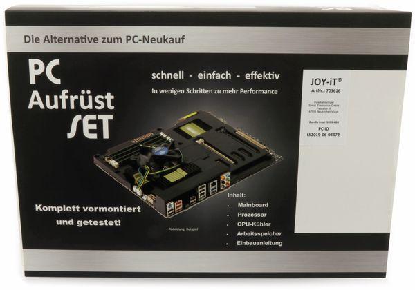 Mainboard-Bundle PO-AS-J3455, Intel Celeron, 4 GB DDR3, Mini ITX - Produktbild 4