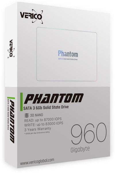 SATA-SSD VERICO Phantom, 960 GB, SATA III - Produktbild 2