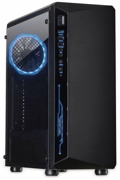 PC-Gehäuse INTER-TECH C-3 Saphir, schwarz
