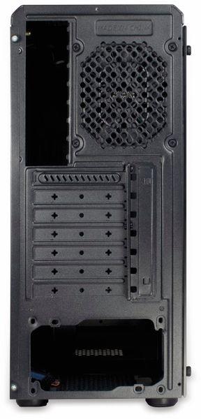 PC-Gehäuse INTER-TECH C-3 Saphir, schwarz - Produktbild 4