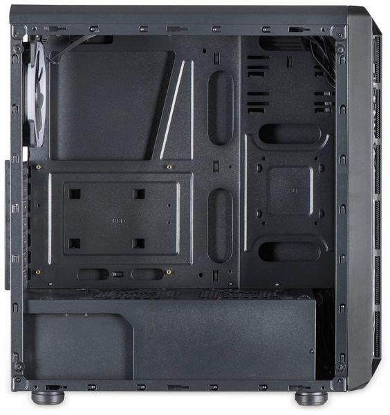 PC-Gehäuse INTER-TECH C-3 Saphir, schwarz - Produktbild 5