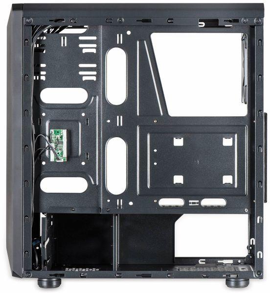 PC-Gehäuse INTER-TECH C-3 Saphir, schwarz - Produktbild 6