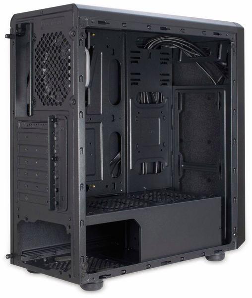 PC-Gehäuse INTER-TECH C-3 Saphir, schwarz - Produktbild 7