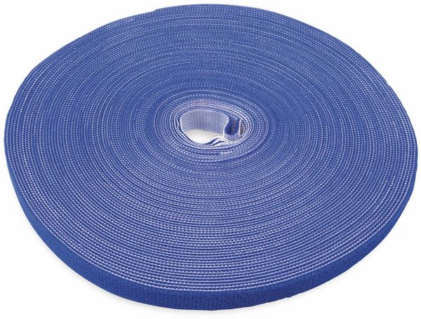 Klett-Rolle LABEL THE CABLE Roll Strap, 25 m, 16 mm, blau