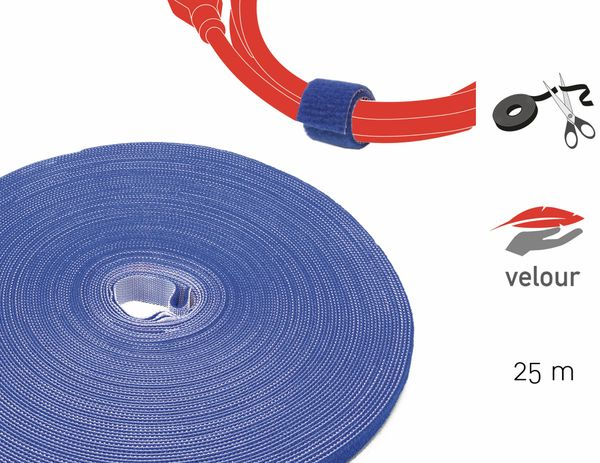 Klett-Rolle LABEL THE CABLE Roll Strap, 25 m, 16 mm, blau - Produktbild 2