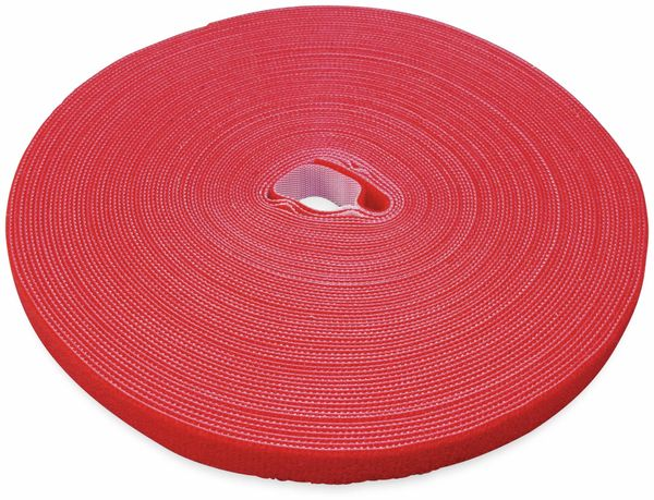 Klett-Rolle LABEL THE CABLE Roll Strap, 25 m, 16 mm, rot