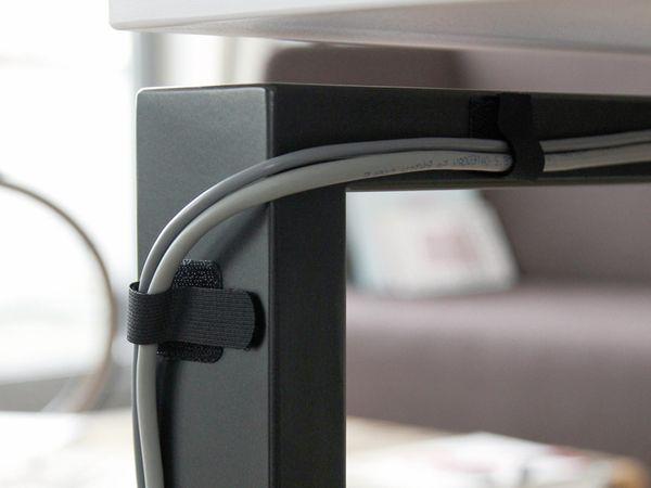 Klett-Kabelbinder LTC WALL STRAPS, schwarz, 50 Stück - Produktbild 4