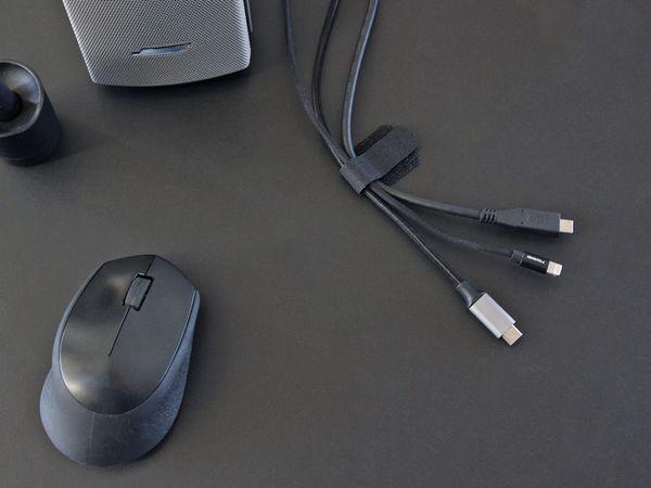 Klett-Kabelbinder LTC WALL STRAPS, schwarz, 50 Stück - Produktbild 5