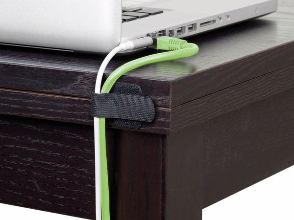 Klett-Kabelbinder LTC WALL STRAPS, schwarz, 50 Stück - Produktbild 7