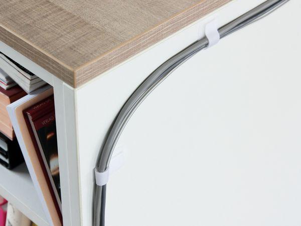 Klett-Kabelbinder LTC WALL STRAPS, weiß, 50 Stück - Produktbild 5