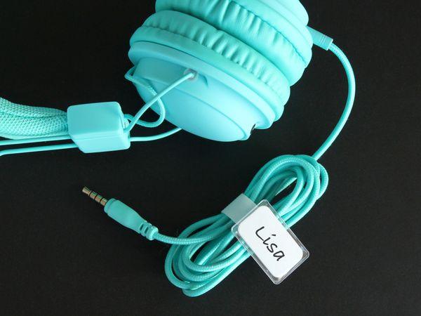 Klett-Kabelbinder LTC MINI TAGS, 10 Stück, weiß - Produktbild 6