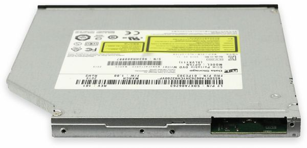 DVD-Brenner LG GP-75N, Mini-USB, schwarz, bulk - Produktbild 2