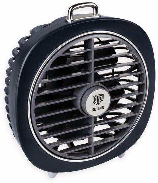 USB-Ventilator KOLINK Aero, dunkelblau - Produktbild 2
